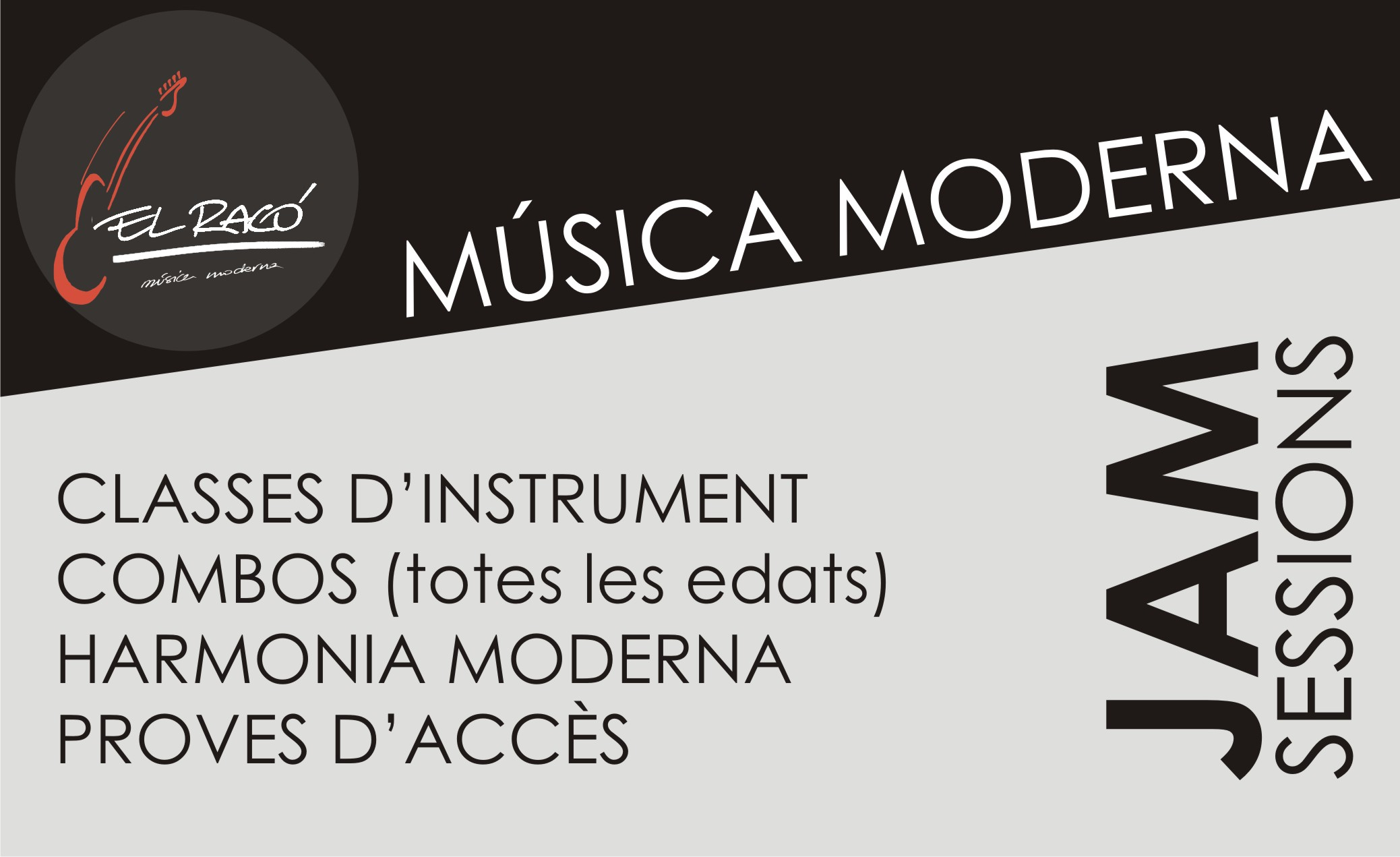 DEPARTAMENT DE MÚSICA MODERNA